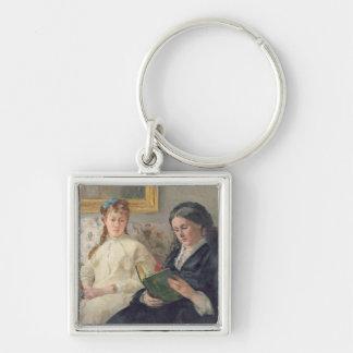 Portrait de la mère et de la soeur de l'artiste porte-clé