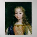 Portrait de Louis XIV en tant qu'enfant Posters