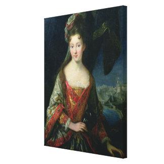 Portrait de Louise-Hippolyte (1687-1731), princess Toiles Tendues Sur Châssis