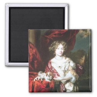 Portrait de Madame, 1677 Magnet Carré