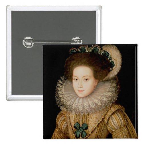 Portrait de Madame, probablement reine de Mary des Pin's
