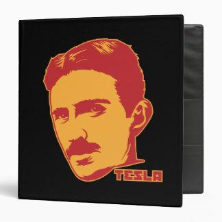 Portrait de Nikola Tesla Classeur Vinyle