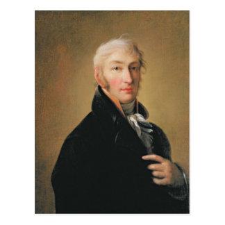 Portrait de Nikolay Mikhaylovich Karamzin, 1805 Carte Postale