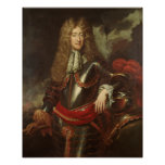 Portrait du Roi James II, c.1690 Poster