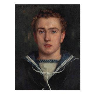 Portrait Frederick Brewer by Tuke Postcard