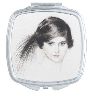 Portrait Helena Rubinstein Lady Compact Mirror