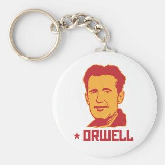 Portrait Keychain de George Orwell