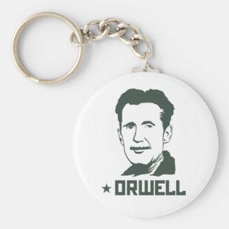 Portrait Keychain de George Orwell Porte-clé