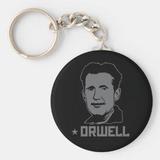 Portrait Keychain de George Orwell Porte-clef