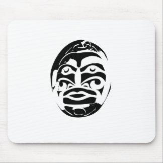 Portrait Mask Mouse Pad