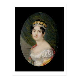Portrait Miniature of the Empress Josephine (1763- Postcard