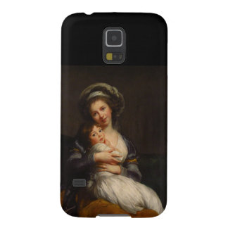 Portrait Mother Holding Child Galaxy S5 Case