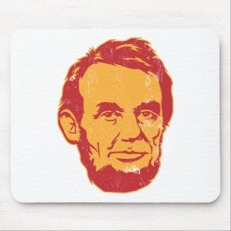 Portrait Mousepad d Abraham Lincoln Tapis De Souris