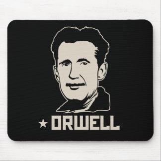 Portrait Mousepad de George Orwell Tapis De Souris