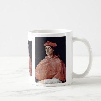 Portrait Of A Cardinal By Raffael (Best Quality) Coffee Mug