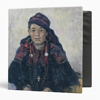 Portrait of a Cossack Woman, 1909 Vinyl Binders