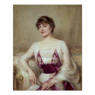 Portrait of a Countess Poster