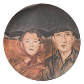 Portrait Of A Dream Plates