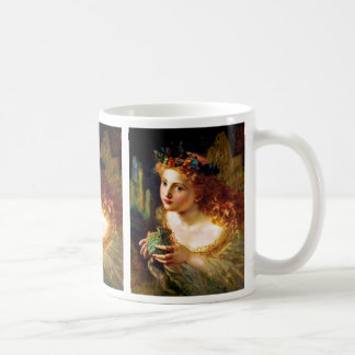 PORTRAIT OF A FAIRY (beautiful pixie) ~ Coffee Mug