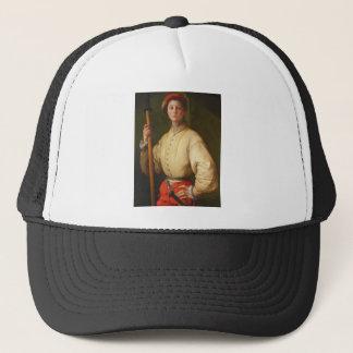 Portrait of a Halberdier by Pontormo Trucker Hat