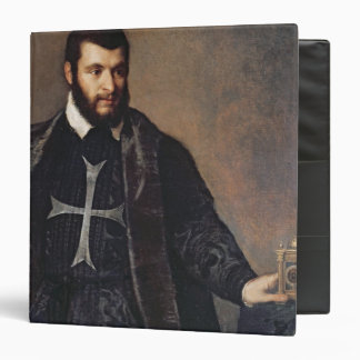 Portrait of a Knight of the Order of Malta Vinyl Binder