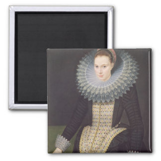 Portrait of a Lady, 1613 (oil on panel) Magnet