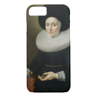 Portrait of a Lady, aged 47, 1647 (oil on canvas) iPhone 7 Case
