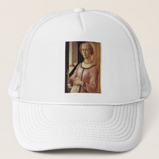 'Portrait of a Lady known as Smeralda Brandini' Trucker Hat