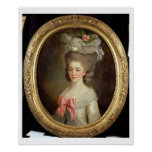 Portrait of a Lady (oil on canvas) Poster
