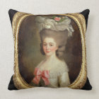 Portrait of a Lady (oil on canvas) Throw Pillow