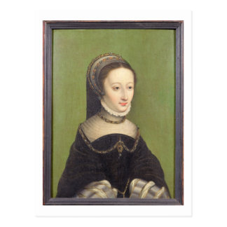 Portrait of a lady, said to be Jeanne d'Albret, mo Postcard