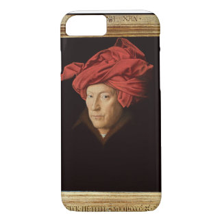 Portrait of a Man, 1433 (oil on oak) (see also 422 iPhone 7 Case