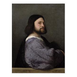 Portrait of a Man, c.1512 Postcard