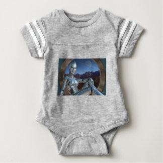 Portrait of a Memory Baby Bodysuit