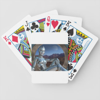 Portrait of a Memory Bicycle Playing Cards