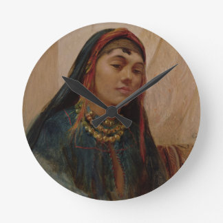 Portrait of a Middle Eastern Girl, c.1859 (oil on Clocks