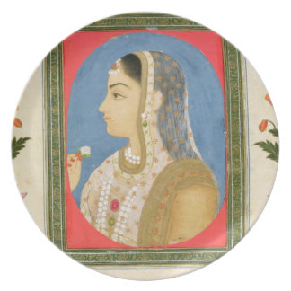 Portrait of a noble lady, from the Small Clive Alb Plates