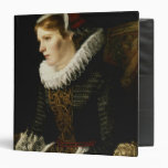 Portrait of a Noble Woman Vinyl Binders