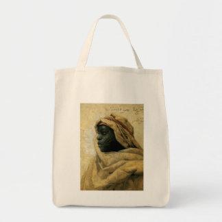 Portrait of a Nubian Canvas Bag