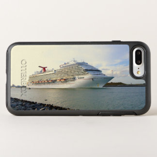 Portrait of a Passing Cruise Ship OtterBox Symmetry iPhone 7 Plus Case