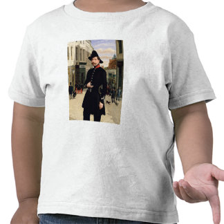 Portrait of a Police Officer in Douai in 1848 T Shirts
