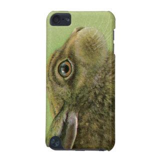 """Portrait of a rabbit """"fine art"""" ipod touch case"""