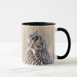 Portrait of a Short-Eared Owl Mug
