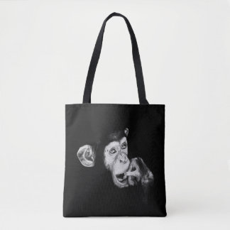 Portrait of a thinker tote bag