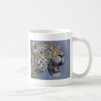 Portrait of a Tiger Head Coffee Mug