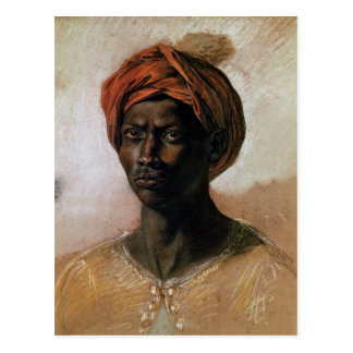 Portrait of a Turk in a Turban, c.1826 Postcard
