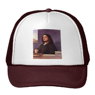 Portrait Of A Venetian Nobleman By Tizian Trucker Hat