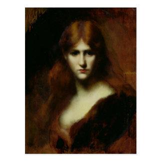 Portrait of a Woman 2 Postcard
