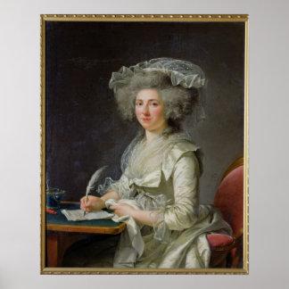 Portrait of a Woman, c.1787 Poster