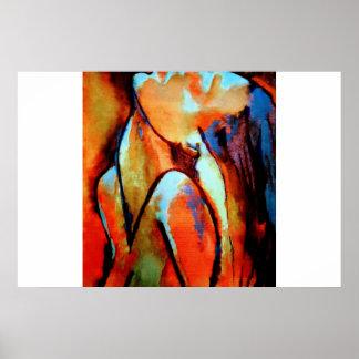 "Portrait of a woman ""Epiphany"" Poster"